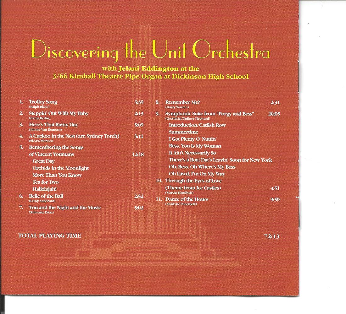 Discovering The Unit Orchestra