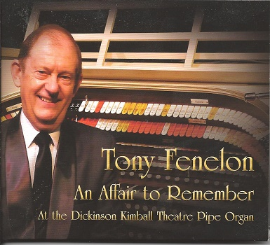 Tony Fenelon CD - An Affair To Remember